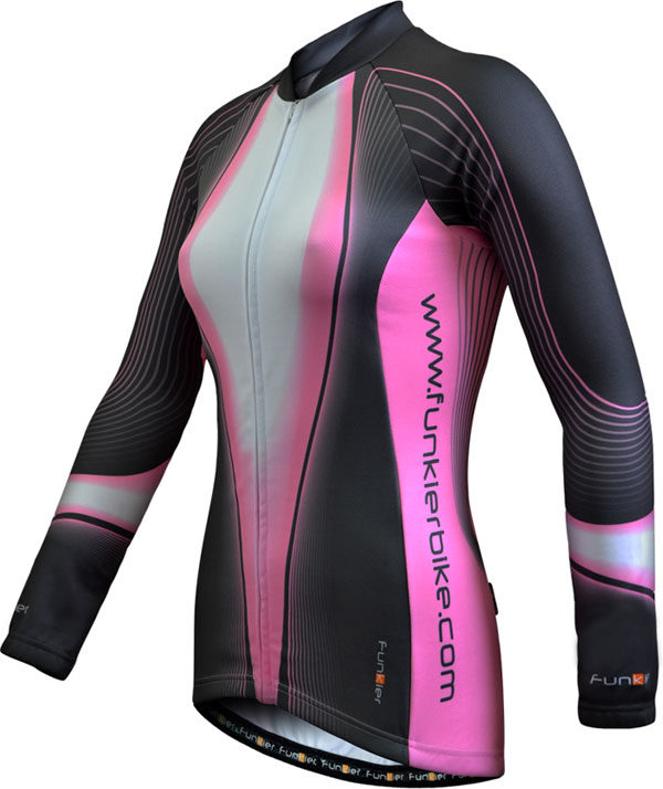 Funkier Ladies Long-sleeved Winter Jersey